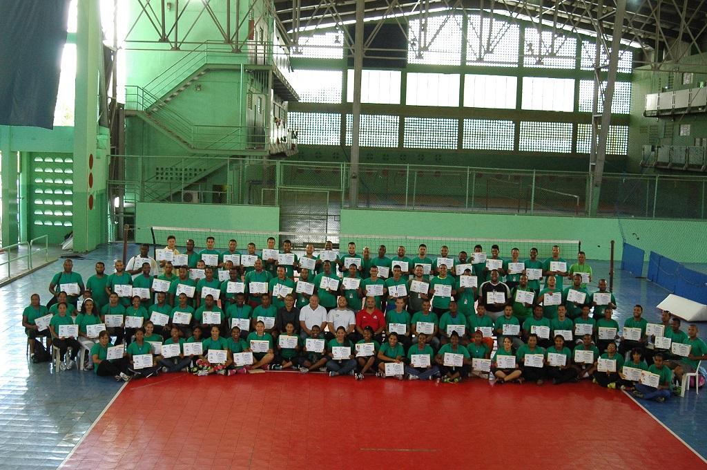 Clausuran con éxito Curso Nacional de Entrenadores