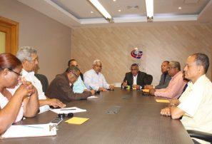 COD se reúne con dirigentes de la frontera