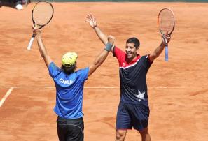 Chile supera a RD en dobles de la Copa Davis