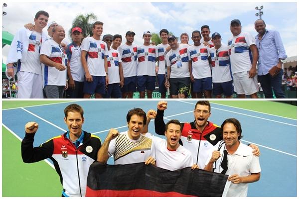 Alemania será rival de RD en playoff de la Copa Davis