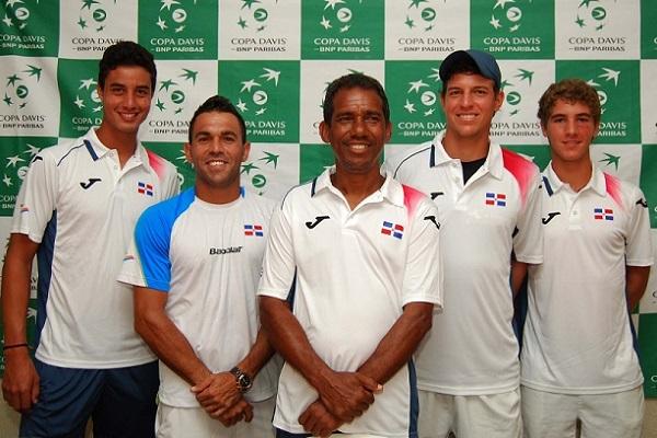 Equipo RD inicia entrenamientos para serie Copa Davis