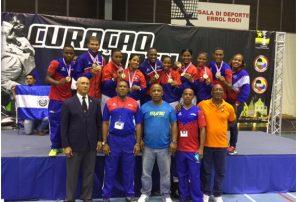 Selecciones karate sobresalen en torneo Curazao
