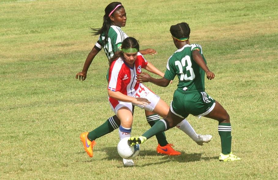 Equipo Sub-20 de fútbol golea 6-0 a St Kitts-Nevis