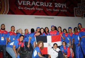 Atletas RD empiezan a llegar a Veracruz para Centroamericanos