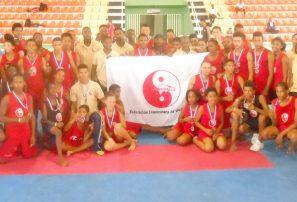 Provincia Ocoa triunfa en Copa Diamante de Wushu