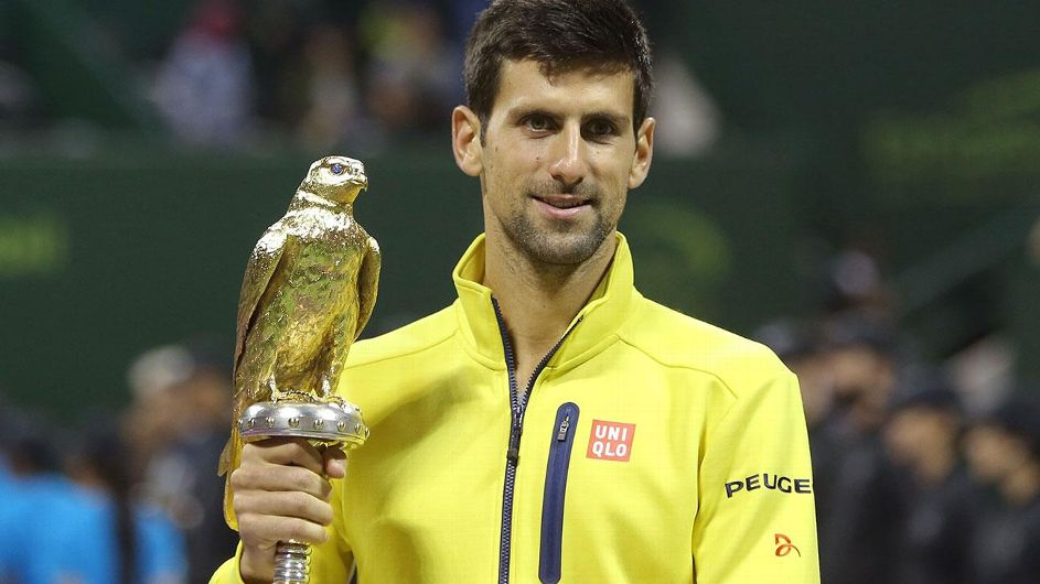 Djokovic aplasta a Nadal en la final Abierto de Doha