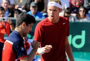Chile se quedó con el dobles y venció a Dominicana en la Copa Davis