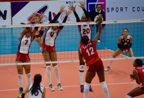 República Dominicana detuvo a Perú en cuatro sets