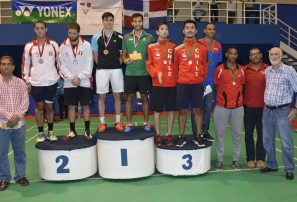Sánchez y Jiménez, plata Bádminton Santo Domingo Open