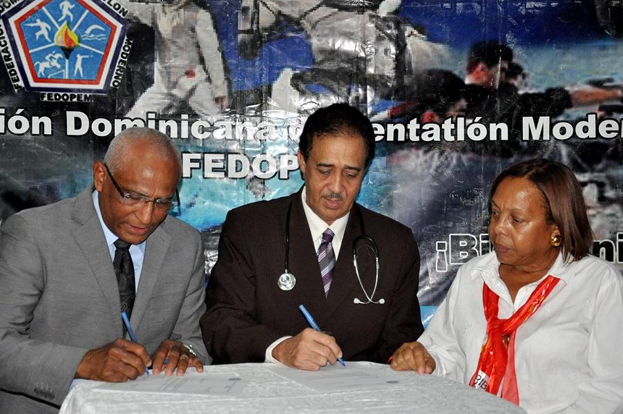 Pentatlón Moderno firma acuerdo con Clinica