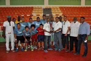 Equipo Hermanas Mirabal, campeón copa balonmano