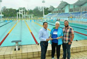 Entregan piscinas a Fedona para torneo nacional