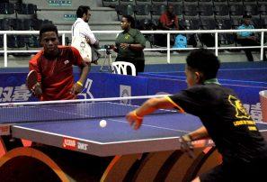 RD se impuso en jornada de dobles campeonato tenis mesa