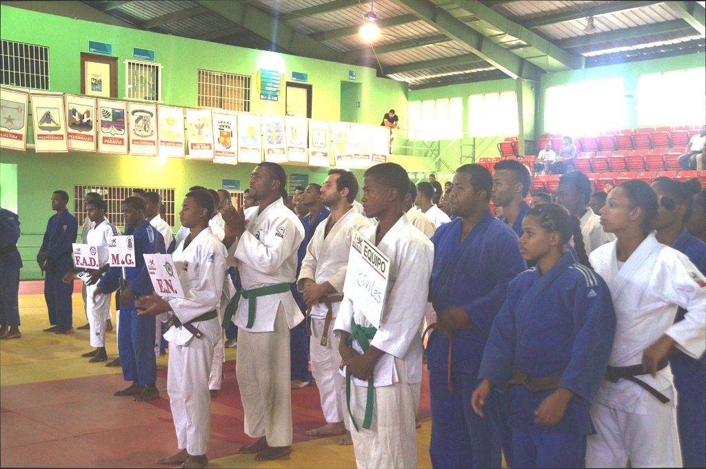 Armada gana kata campeonato Cívico, Militar y Policial judo