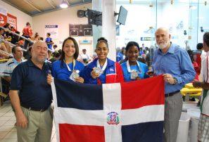 RD, dos medallas de plata mundial Junior Racquetbol