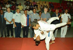 Morillo, De León y De Jesús, oro en nacional judo infantil