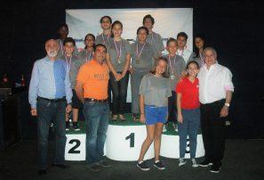 Mejía y Hernández, oro en torneo juvenil boliche