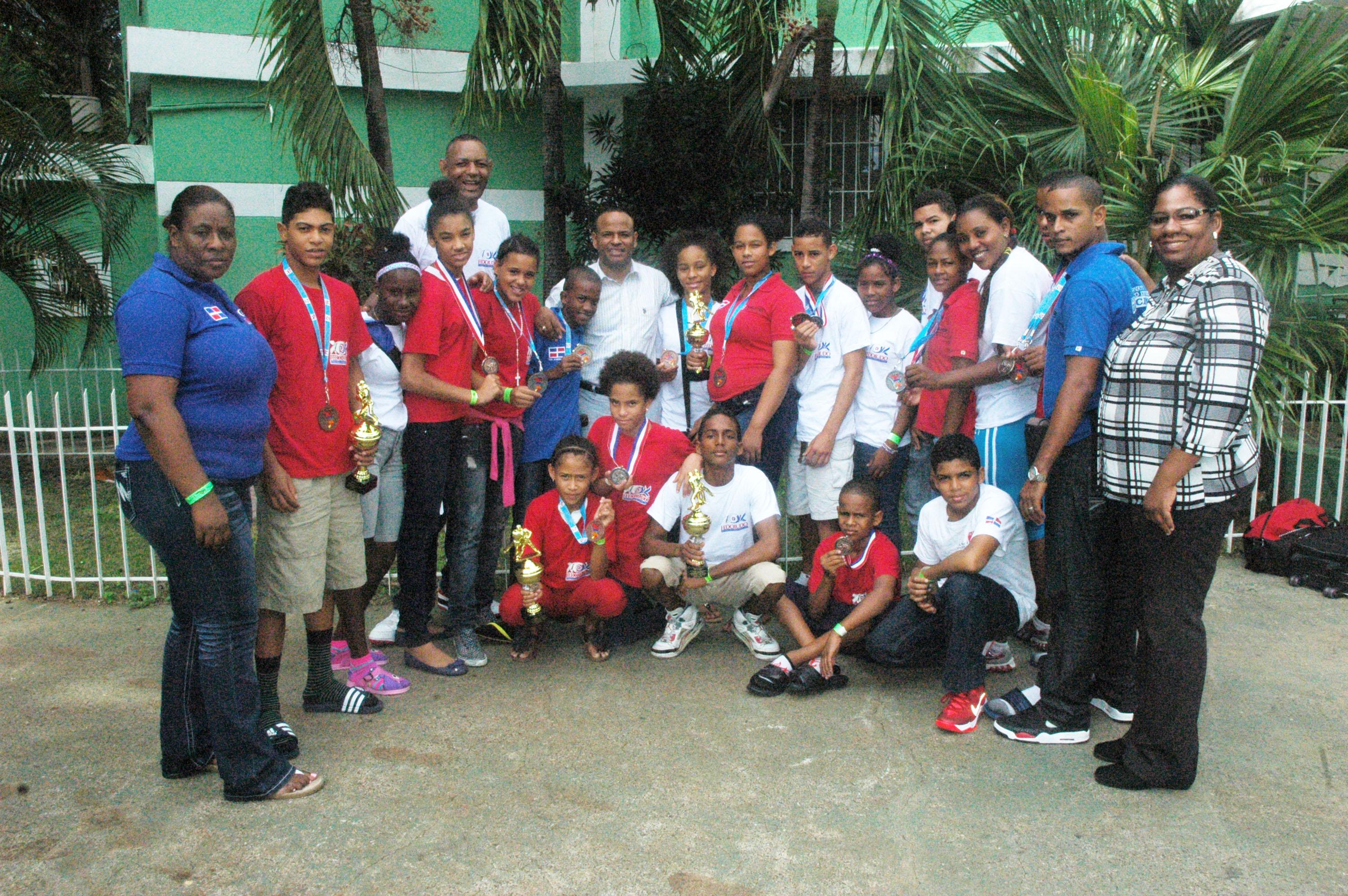 Judocas infantiles ganan 14 medallas Panam Puerto Rico