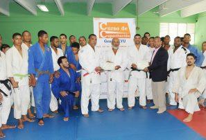 Federación de Judo certifica nuevos entrenadores Grado Kyu