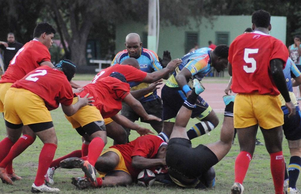 RD derrotó a Curazao en primer juego oficial de rugby
