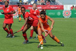 Hockey femenino a semifinal; empata con Trinidad y Tobago