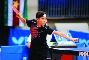 Equipo pre-infantil, oro en campeonato tenis de mesa