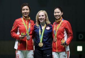 Estadounidense Thrasher gana primera medalla de oro de Río