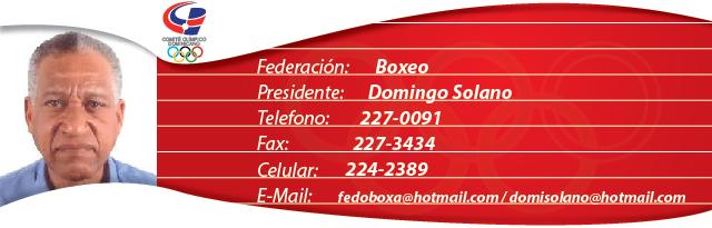 Domingo Solano - Boxeo