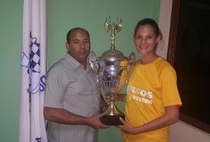 Raydili Rosario, campeona nacional de ajedrez sub-18