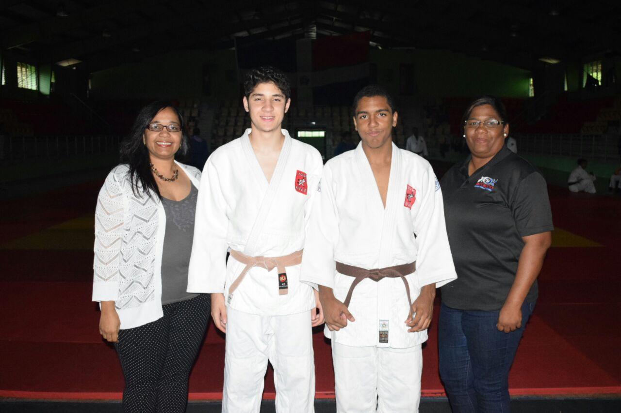 Judocas Marte y Tornal, a campeonato copa cadete de Hungría