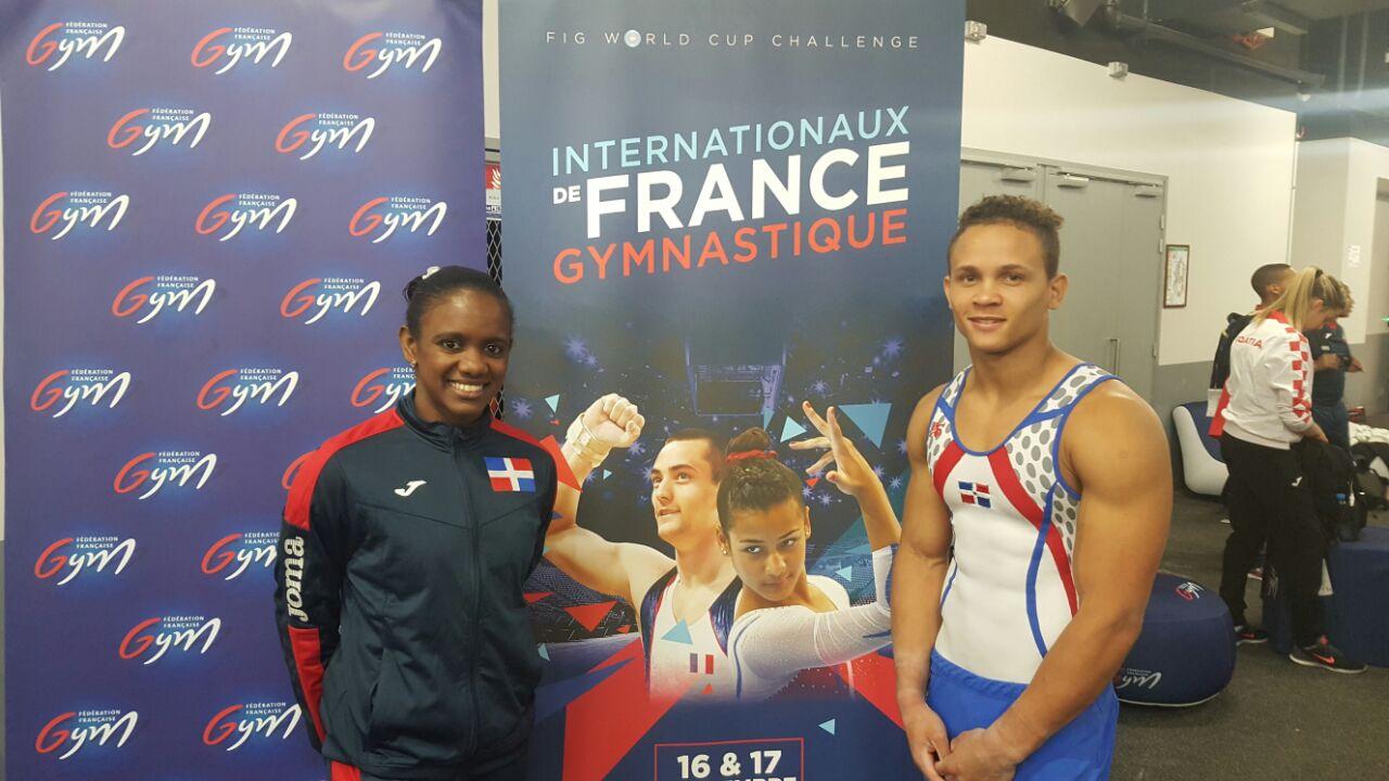 Yamilet y Audrys avanzan a la final en salto Copa Mundial Gimnasia
