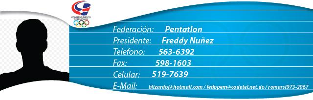 Freddy Núñez - Pentatlón