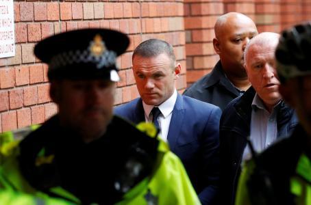 Wayne Rooney se declara culpable por conducir ebrio