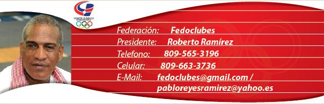 Roberto Ramírez, presidente Fedoclubes