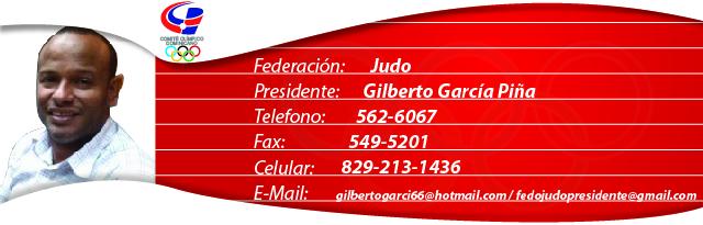 Gilberto García Piña - Judo