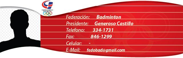 Generoso Castillo - Bádminton