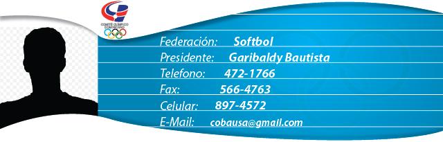 Garibaldy Bautista - Softbol