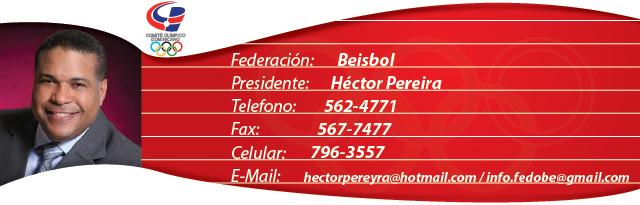 Héctor Pereira - Béisbol