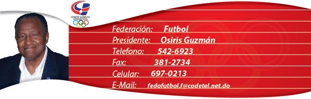 Osiris Guzmán - Fútbol