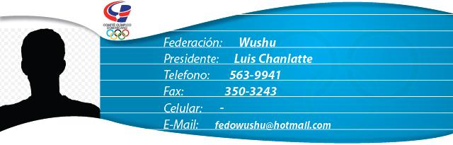 Luis Chanlatte - Wushu