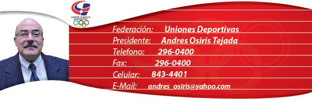 Andres Osiris Tejada - Uniones Deportivas