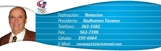 Radhames Tavarez - Natación