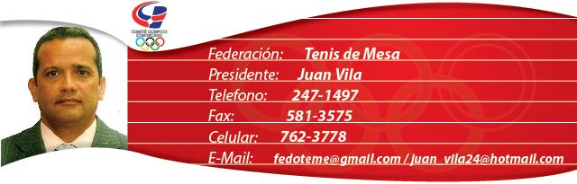 Juan Vila - Tenis de Mesa