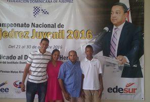 Jiménez  y Rodríguez encabezan Campeonato juvenil de Ajedrez