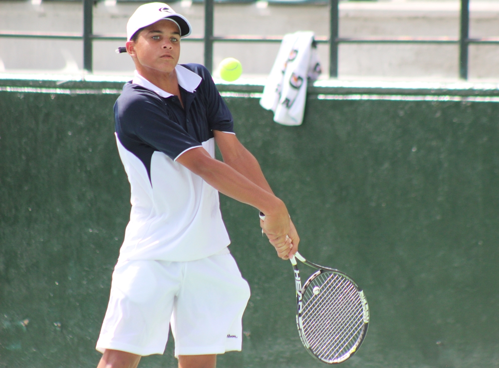 Alejandro Gandini a semifinales Campeonato U14 de tenis