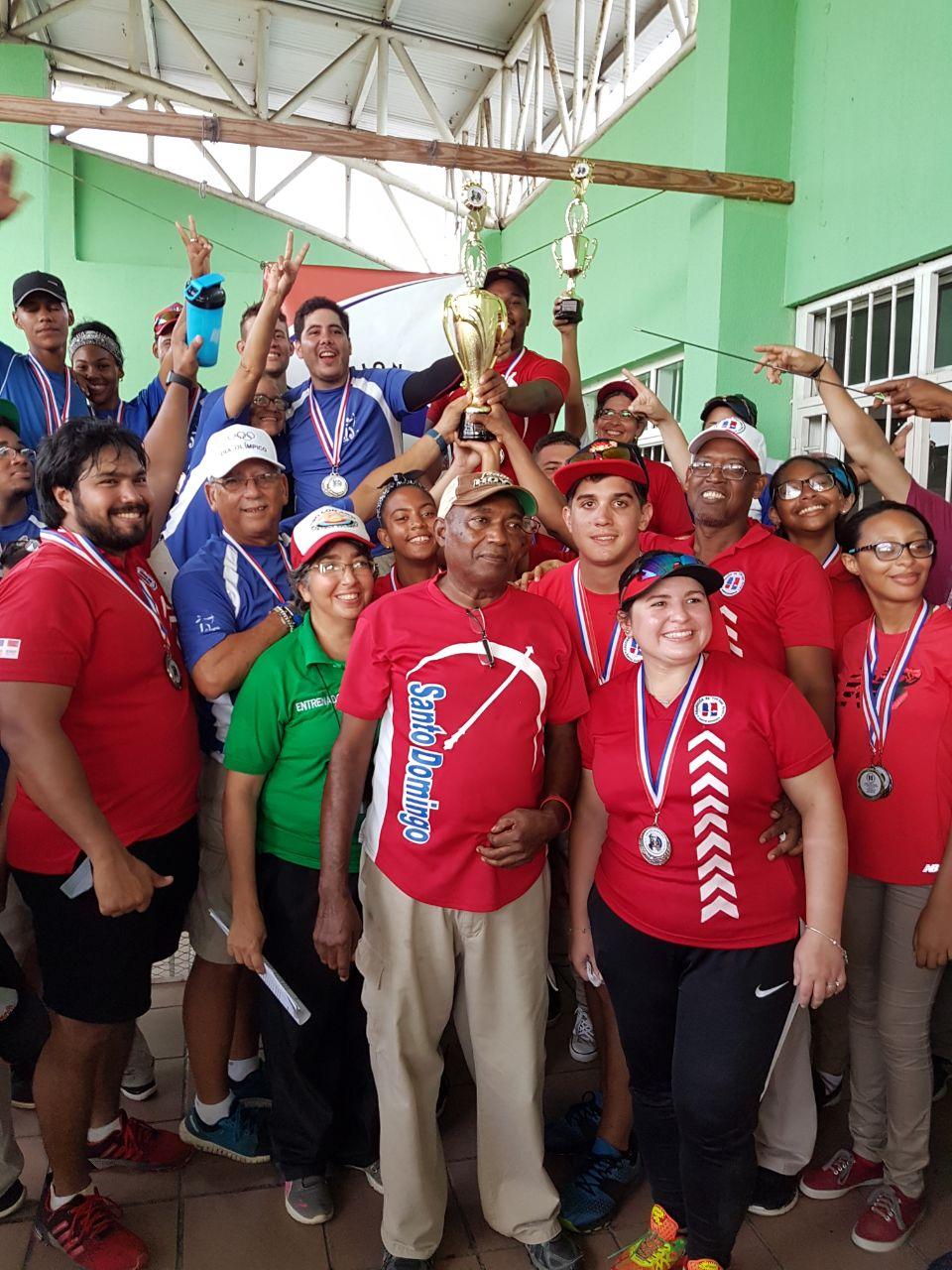 Asociación arquería Santo Domingo conquista Copa Duarte Tiro con Arco
