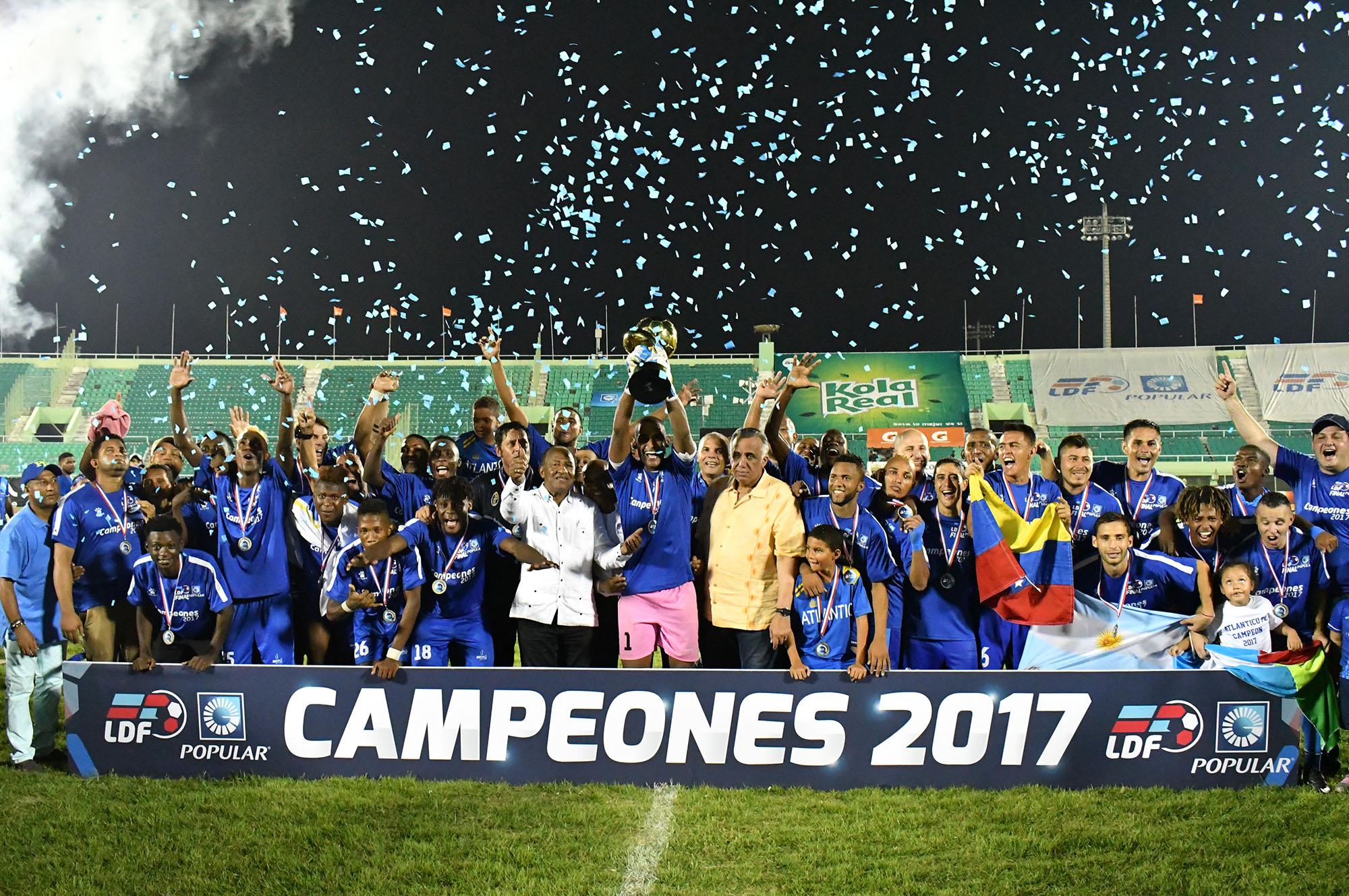 Atlatico FC, campeón de la temporada LDF 2017