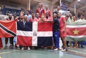Bádminton RD, campeón por equipos Copa del Caribe en Aruba
