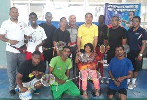 Fedobádminton fortalece trabajos con Alianza de Personas con Discapacidad