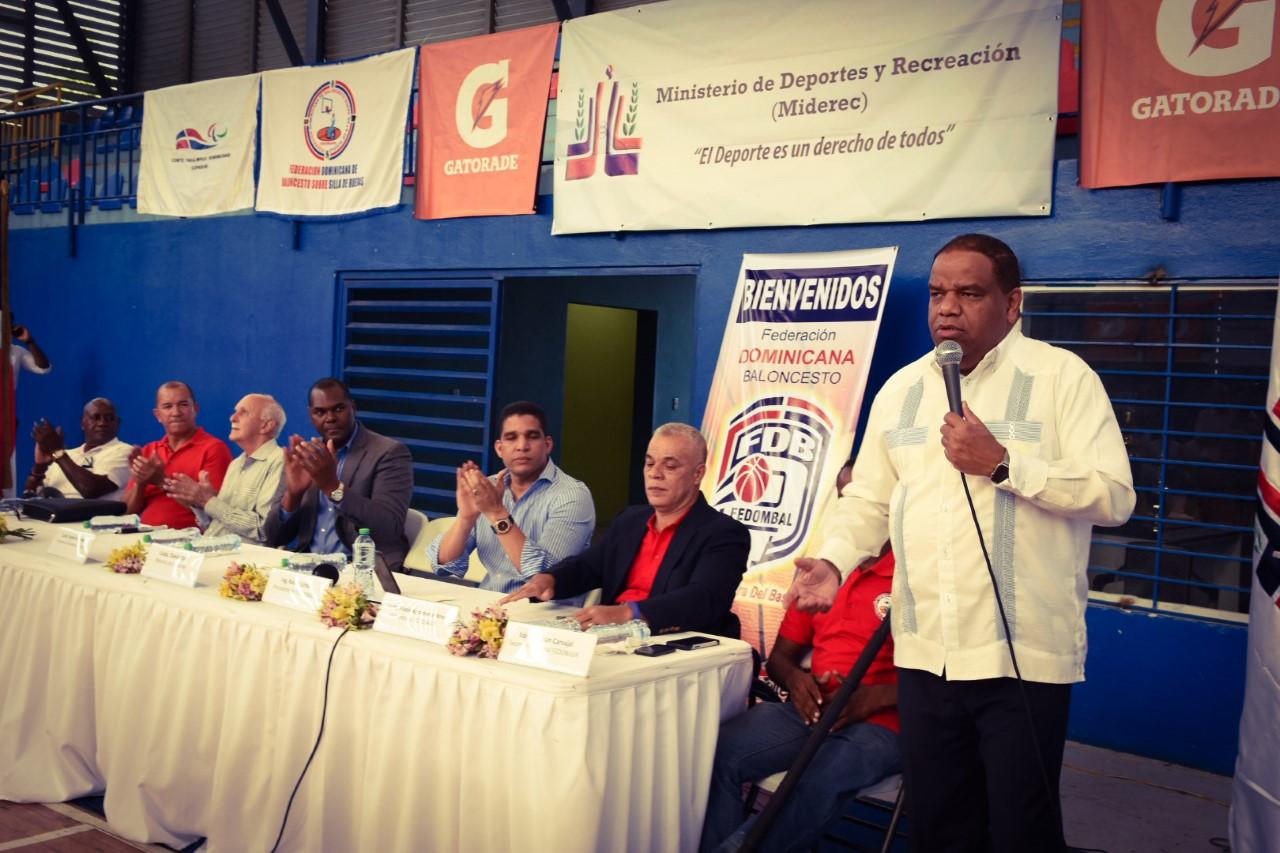 RD, Venezuela y Nicaragua abren con triunfo internacional basket sillas sobre ruedas